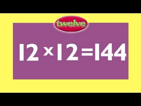 12 times table multiplication game fun answers then for 11 times table rap