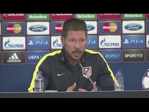 Real are one of the best teams in the world- Simeone