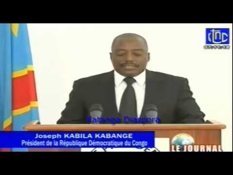 l'intégralité du discours de Joseph Kabila à la veille de la célébration du 54e anniversaire