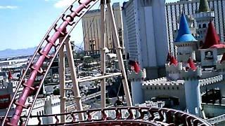 New York New York Roller Coaster, Las Vegas