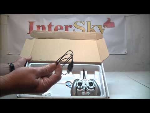 Unboxing 2.4G F-Series 501 4CH RC Helicopter
