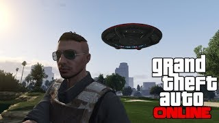 GTA 5 Online: Flying UFO Easter Egg Online! How To Get