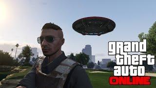 GTA 5 Online: Flying UFO Easter Egg Online! How To Get