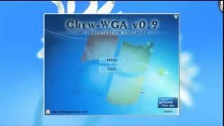 Activar Windows 7 Chew Wga