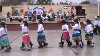 Niños Bailando Santiago Limoncito Verde En El Colegio