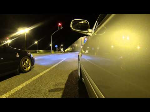 Civic ej9 b18c4 modified vs Civic ek4 b16a2 stock