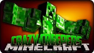 Minecraft Mods CRAZY CREEPERS! Elemental Creepers Mod