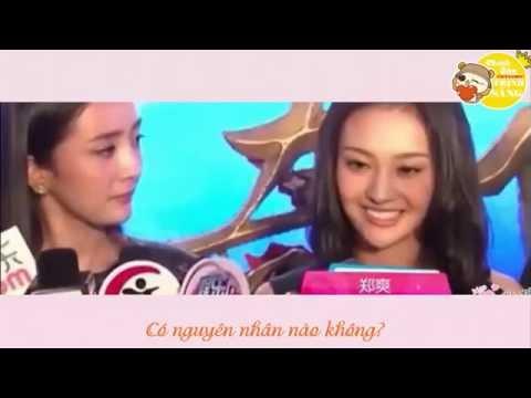 Vietsub Trịnh Sảng trả lời phỏng vấn về người yêu cũ - Nhận xét của đồng nghiệp về Trịnh Sảng