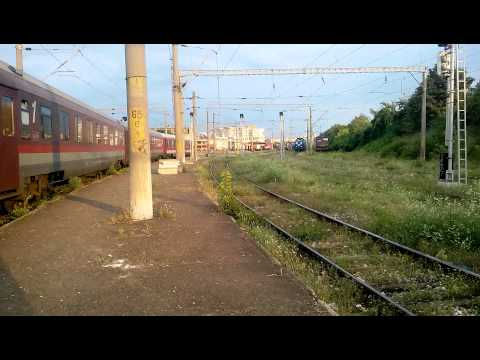 Activity Constanta railway station - electric locomotives, Diesel locomotives