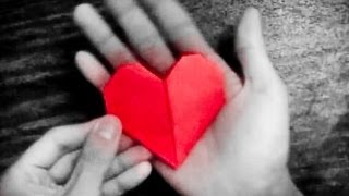 How To Make An Easy Origami Heart [[HD]]