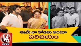 Nag introduces Samantha as daughter-in-law at Nimmagadda w..