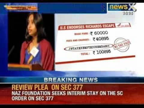 Devyani Khobragade case: US embassy paid for air tickets of domestic help's family - NewsX