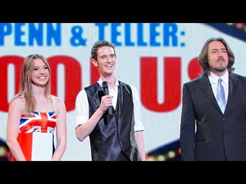 CRAZY MAGIC TRICK! Unbelievably fast magicians - Penn and Teller Fool Us