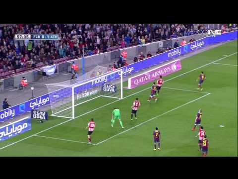 Barcelona - Athletic Bilbao Highlights HD 20.04.2014