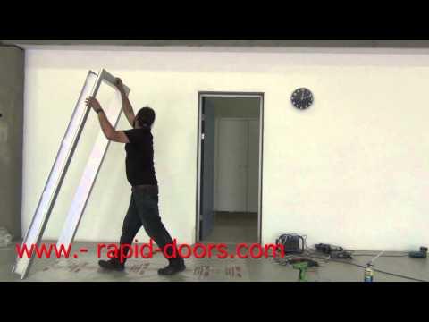 COLOCACION CERCOS DE ALUMINIO RAPID DOORS