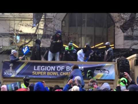 Seattle Seahawks Parade 02/05/2014