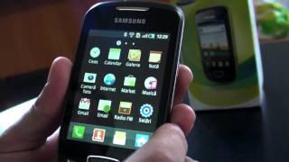 Samsung Galaxy Mini S5570 Review HD ( In Romana ) Www