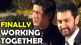 Aamir Khan & Shahrukh Khan Are Working Together