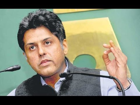 Manish Tewari speaks out