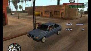 GTA SA Tutorial Como Abrir O Vidro Do Veículo.