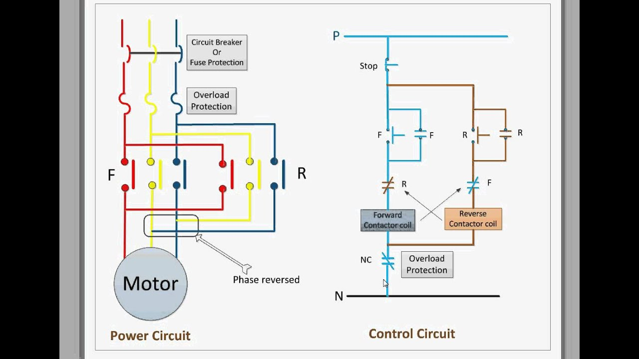 5 pin power window switch wiring diagram control circuit for forward and reverse motor youtube  control circuit for forward and reverse motor youtube