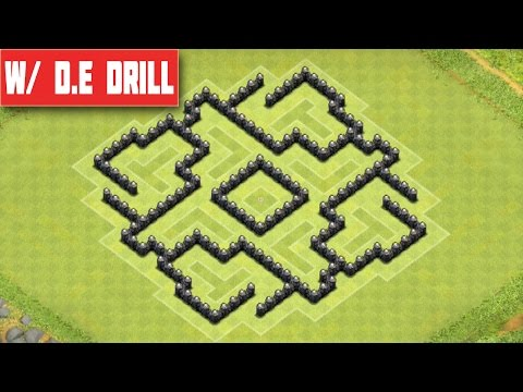 Clash of clans town hall 7 defense best coc th7 trophy war base