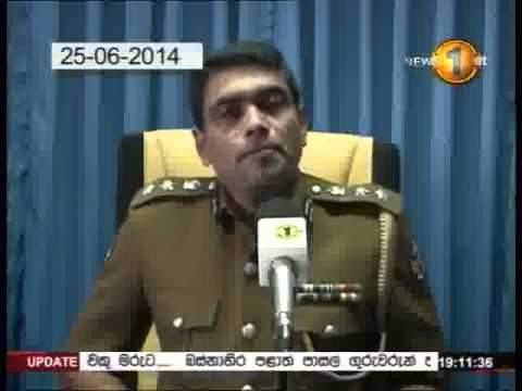 Newsfirst Prime time 7PM  Sirasa TV 04th July 2014