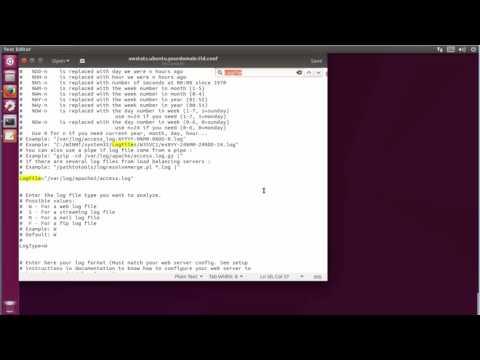 How to Set Up AWStats Apache Log Analyzer On ubuntu 17.04 zesty zapus