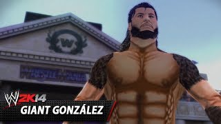 WWE 2K14 Community Showcase: Giant González (PlayStation