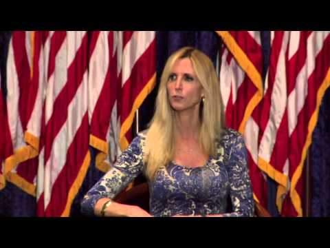 "Ann Coulter Talks ""Never Trust a Liberal"""