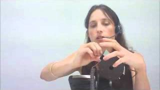 How To Set Up A Jabra 9120 Wireless Telephone Headset Set