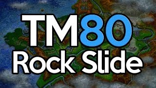 Where To Find TM 80 Rock Slide Pokemon X And Y Location TM