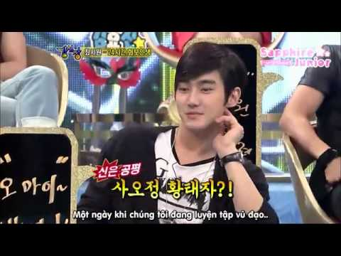 [Vietsub] Strong Heart 06/07/10 Suju cuts 1/3.flv