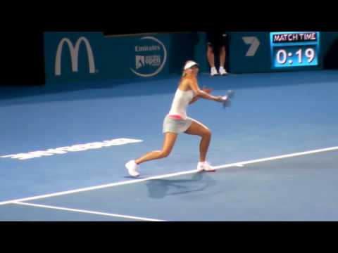 Maria Sharapova - Serving