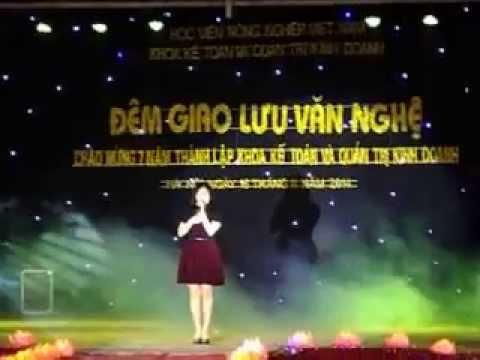 Lời con hứa - Thùy Chi live (tại Học viện nông nghiệp Việt Nam)