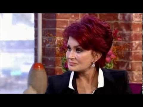 Sharon Osbourne and her X Factor finalists (over 25s) - This Morning 7th October 2013
