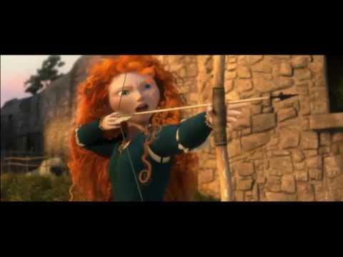Clips Not Shown in Pixar's Movie Brave,