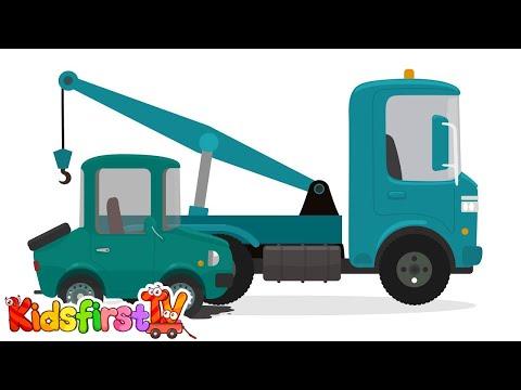Car doctor kid 39 s car cartoons school bus story doc for Doc motor works auto repair