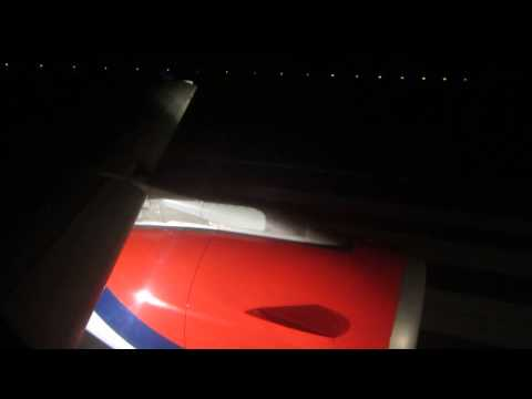Air Serbia A319 Takeoff from Belgrade - Window View