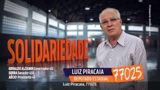 Vote nos deputados estaduais do Solidariedade-SP. Vote 77. Programa 2