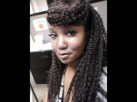 Brazilian Wave/Curl Crochet Braids- 2 Week Review - YouTube