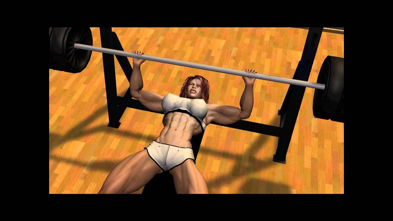Female Bodybuilder Bench Press 350lbs Youtube