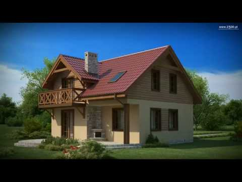 Projekty Z500 - projekt domu Z3