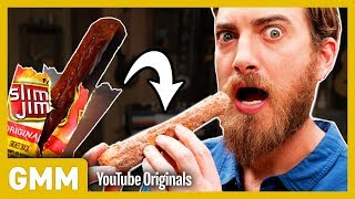 Slim Jim Stuffed Churro Taste Test