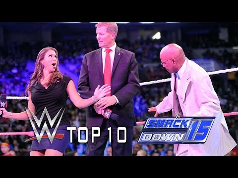It's Party Time with the Top 10 SmackDown Moments - October 10, 2014
