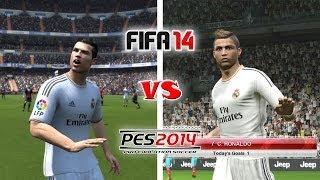 FIFA 14 Vs. PES 14: Celebrations