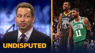 Chris Broussard talks NBA free agency for KD, Kyrie and Anthony Davis | NBA | UNDISPUTED