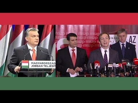 Hungary's 'cold civil war election' likely to keep right in power
