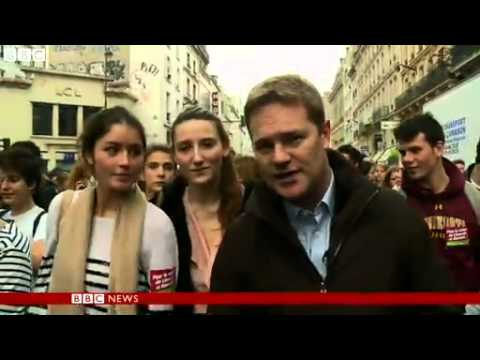 BBC News French students protest Roma girls deportation to Kosovo