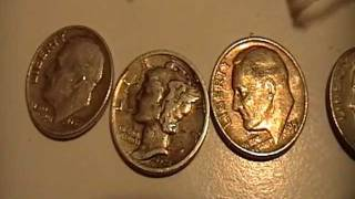 Coin Roll Hunting Dimes For Silver